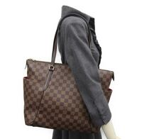 Damier ebene louis vuitton leather tote bag Rancho Cordova, 95670