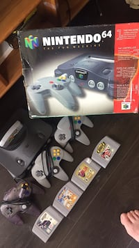 Nintendo 64 console and games. 175 FIRM!