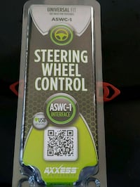 Steering wheel stereo control