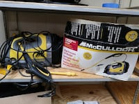 yellow and gray mcCulloch high pressure washer