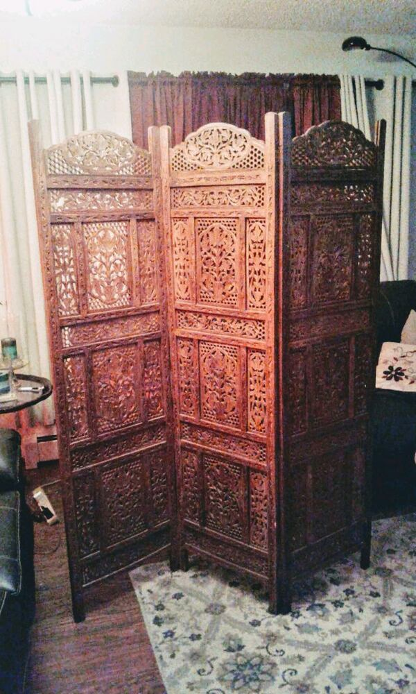 Ornate Room Divider from Pier One c5ad522e-694f-49b2-9cf9-51428e5df72d
