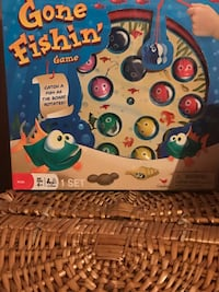 $5 GONE FISHIN GAME BRAND NEW MANUFACTURED SEALED MESSAGE ME IF INTERESTED THANKS  Lafayette, 70508