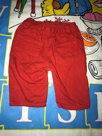 Size 0-3 Months Baby  Red Jeans Fort Washington, 20744