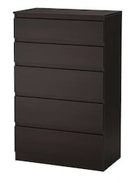 Ikea 5 chest drawer null