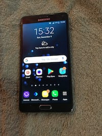 UNLOCKED Samsung galaxy note 4 1964 km