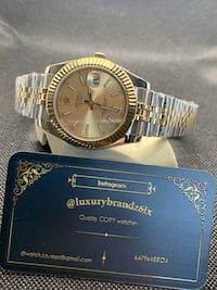 Rolex Datejust C.L0•N•E $->>>{. 400 ). Analog watch automatic watch Toronto, M8Y 1H8