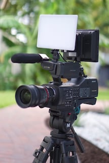 Sony EA50UH Pro Large Format Interchangeable Lens Camcorder