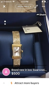 Brand new Swarovski watch Edmonton, T6R 0G8