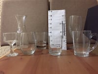 Restaurant Grade Drinking Glasses - 3 for $1(KITS) VANCOUVER
