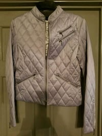 Express quilted grey  zip-up jacket Houston, 77076