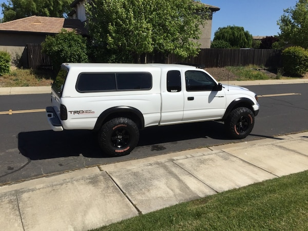 Toyota Tacoma Camper Shell For Sale >> 01 04 Toyota Tacoma Camper Shell