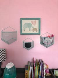Elephant Nursery wall decor