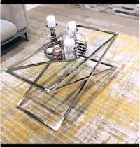 New Stainless Steel Zig Zag Coffee Table Toronto