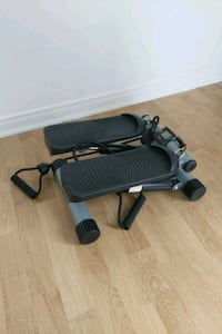 Portable elliptical stepper