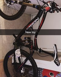 black and red hard tail mountain bike Surrey, V3R 2L8