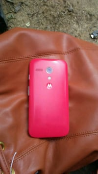 red LG android smartphone with case Monroe, 28112
