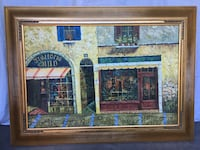Framed oil canvas Vaughan, L4L 8W6