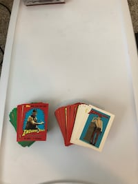 Indiana Jones Trading cards Vintage