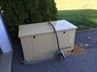 Guardian general power propane system. Generator. Only 96 hours. Sale or trade for riding lawn mower