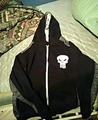 black and white zip-up hoodie Lancaster, 93534