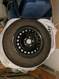 [PHONE NUMBER HIDDEN] S M+S ( 4 winter tires with winter rim Barrie, L4N 4H5