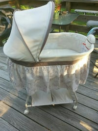 baby's white bassinet Easton, 02375