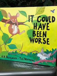 """It Could Have Been Worse"" child book"