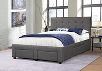 Brand new queen size platform bed with 4 drawers Silver Spring, 20902