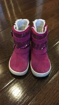 Pair of pink-and-white boots Falls Church, 22043