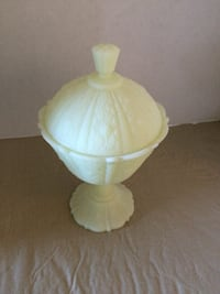 Jadeite Candy Dish Nice Condition