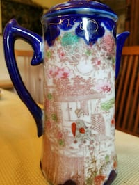white and blue floral ceramic pitcher Montgomery Village, 20886