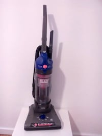 black and blue Bissell upright vacuum cleaner Winnipeg, R2M 1K3