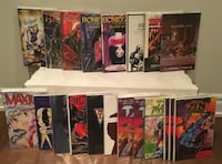 Collection of 20 comic book trade paperbacks and graphic novels Toronto
