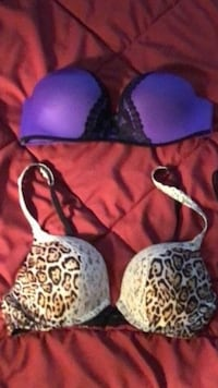 34B victorias secret push up bras 2257 mi