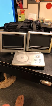 Portable DVD Player with Two Screens Annandale, 22003