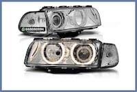 FAROS CON ANGEL EYES BMW E38 SERIE 7 MADRID