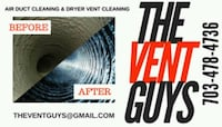 Dryer Vent Cleaning more info in description  Springfield, 22152