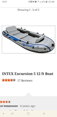 Boat like this used once was put outside and dirty Aransas Pass, 78336