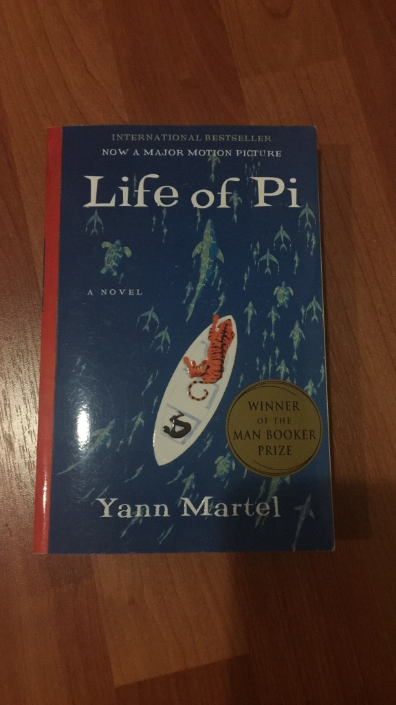 Letgo life of pi by yann martel book in mount eden ca for Life of pi character analysis