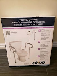 Toilet safety support handles London, N6C 4Y3