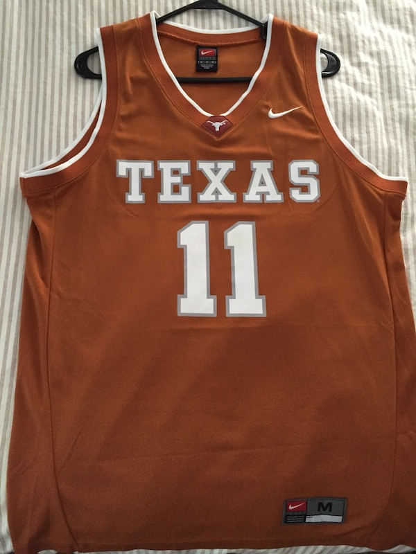 best sneakers b77c1 ca45f University of Texas TJ Ford #11 Nike Jersey