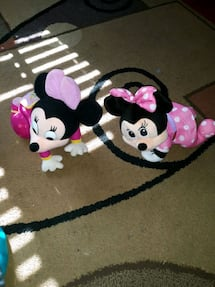 Minnie mouse crawl and talk babies