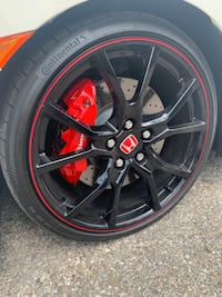Honda Civic Type R rim Oakville, L6H