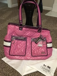 Authentic! COACH Quilted Tote