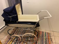 Rare Vintage early 1950's Pedigree Pram Buggy Gloucester City, 08030