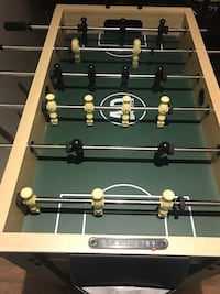 black and brown foosball table Calgary, T2A 6R8