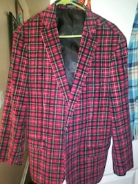 Men's Flannel Sports Coat Size 40/42 (Medium)