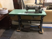Consew 226 r industrial walking foot machine. professionally serviced in october 2017. brand new servo motor and table included. for a small fee delivery can be arranged