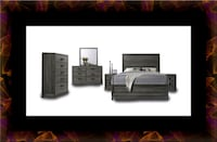 11pc Kate bedroom set with mattress  Washington, 20018