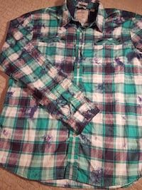 Mens Large Guess button up